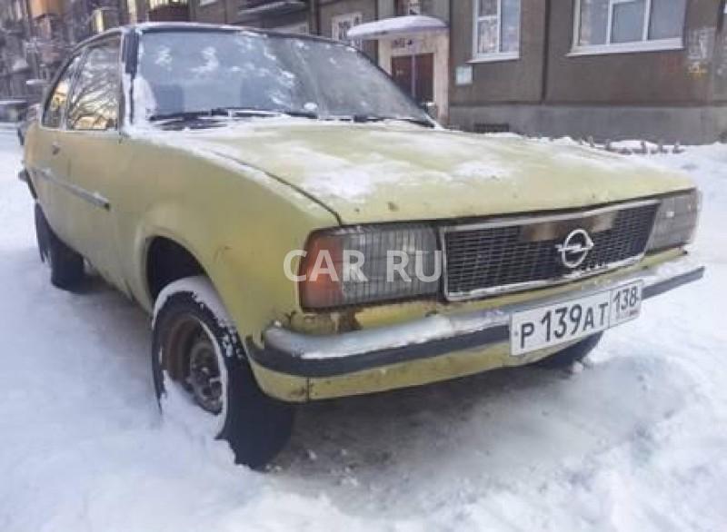 Opel Ascona, Ангарск