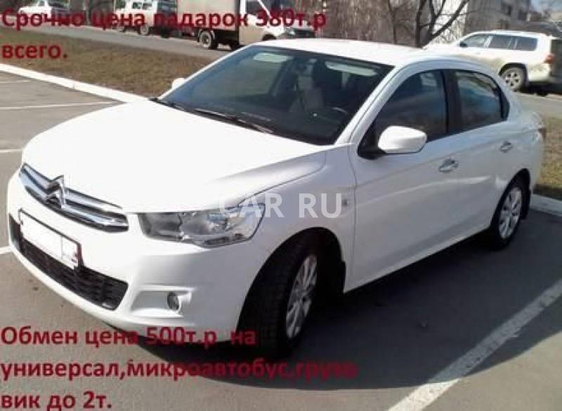 Citroen C-Elysee, Барнаул