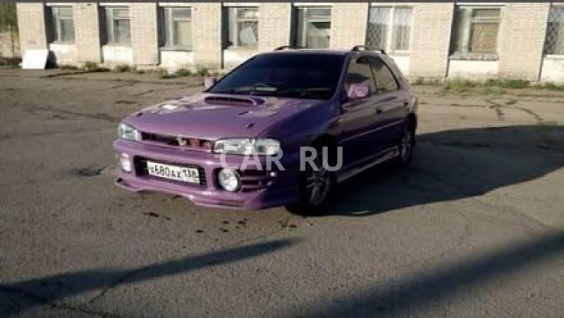 Subaru Impreza WRX, Ангарск