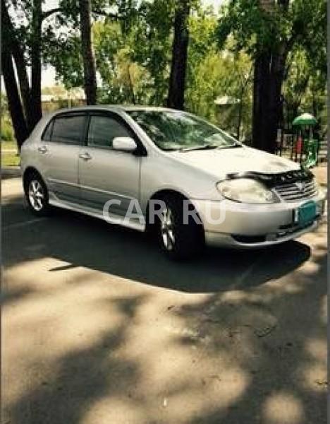 Toyota Allex, Абакан
