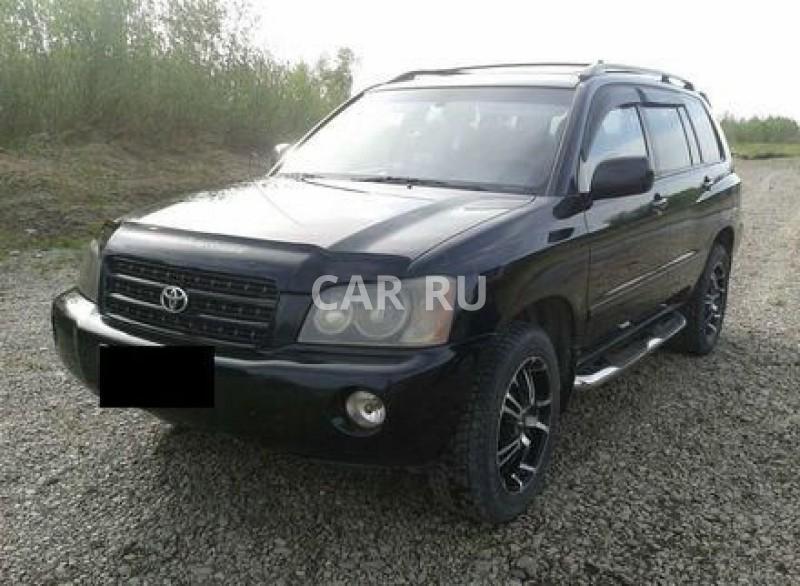 Toyota Highlander, Абакан