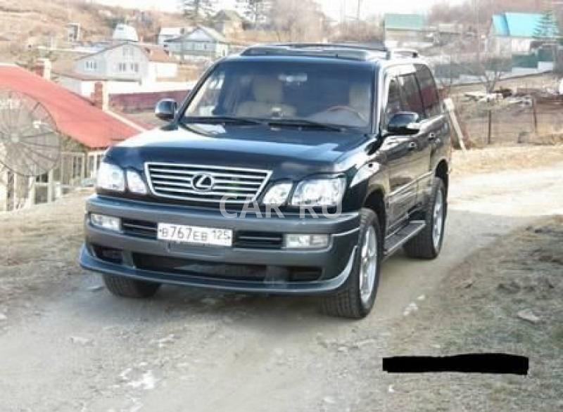 Lexus LX, Артём