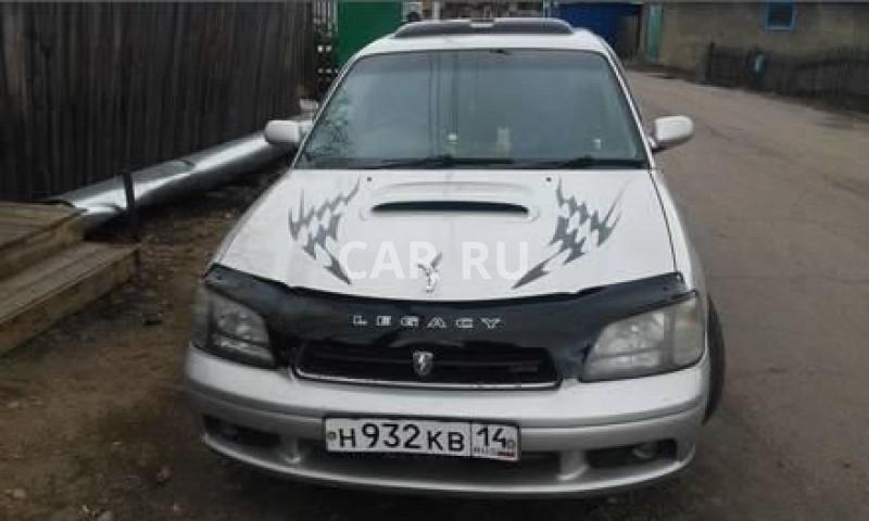 Subaru Legacy B4, Алдан