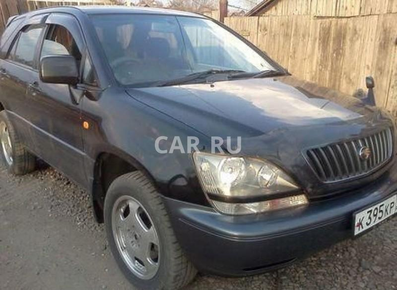 Toyota Harrier, Балей