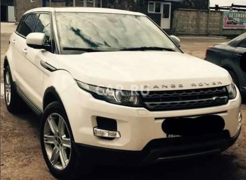 Land Rover Range Rover Evoque, Абакан