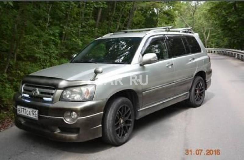 Toyota Kluger V, Владивосток