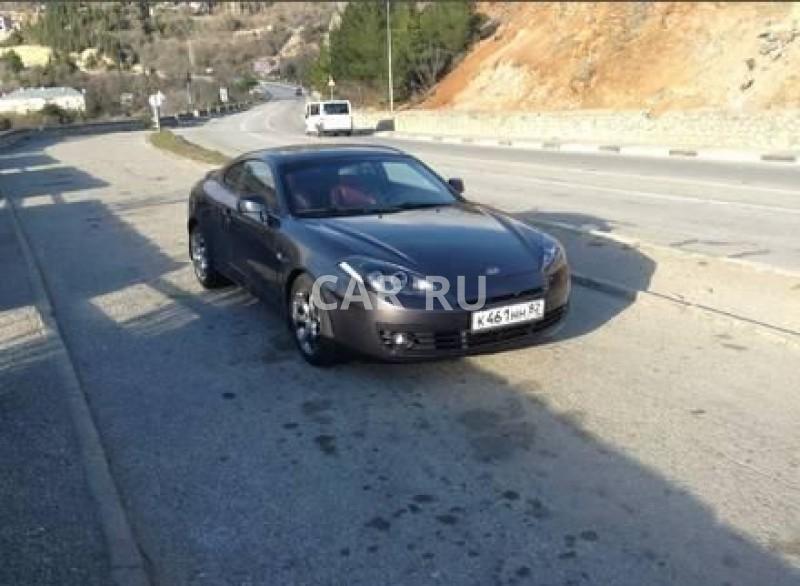 Hyundai Coupe, Алушта