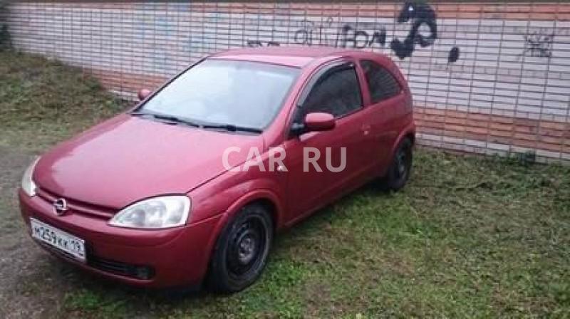 Opel Corsa, Абакан