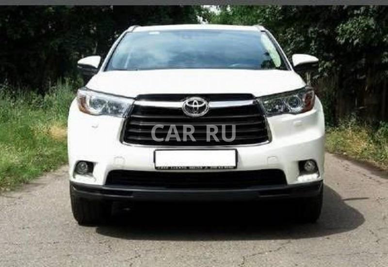 Toyota Highlander, Белгород