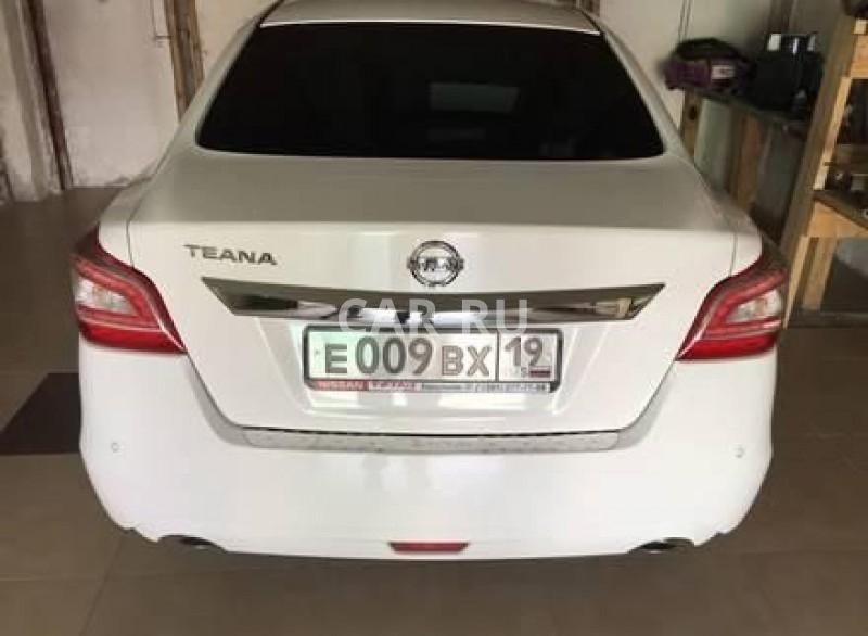 Nissan Teana, Абакан