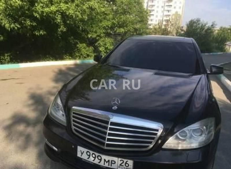 Mercedes S-Class, Ачинск