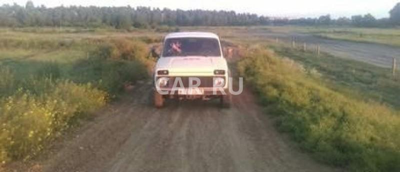 Lada Niva, Ангарск