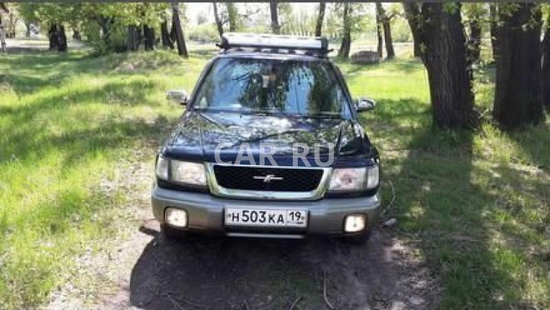 Subaru Forester, Абакан