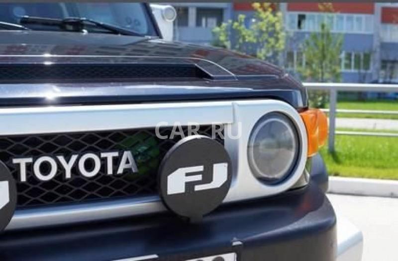 Toyota FJ Cruiser, Барнаул