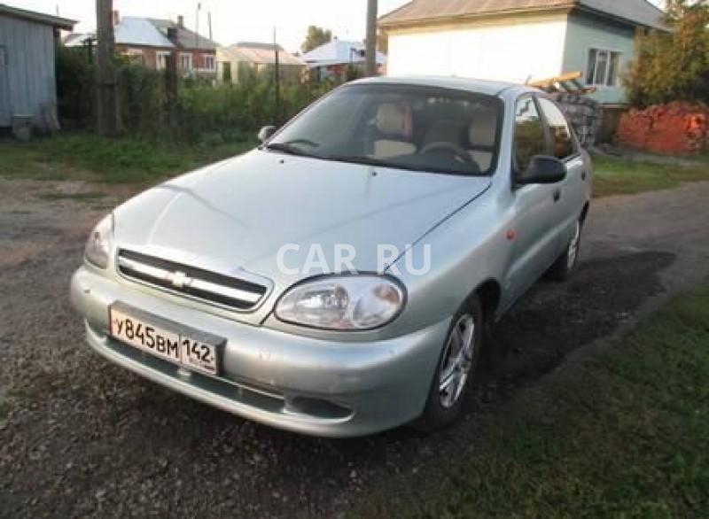 Chevrolet Lanos, Анжеро-Судженск