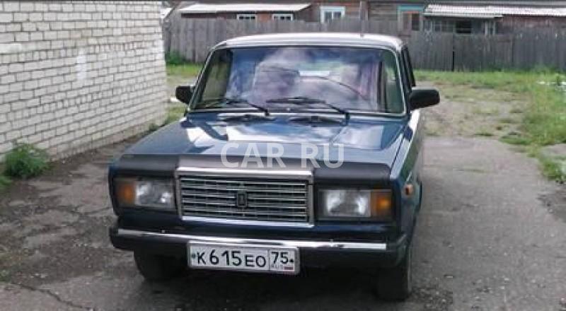 Lada 2107, Агинское