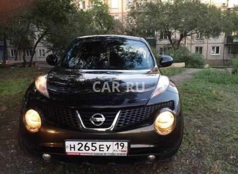 Nissan Juke, Абакан