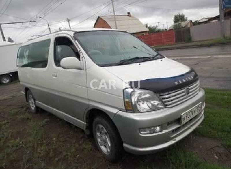Toyota Hiace Regius, Абакан