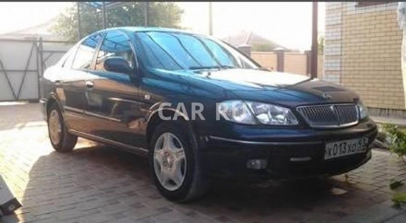 Nissan Bluebird Sylphy, Анапа