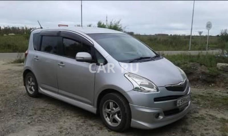 Toyota Ractis, Белогорск