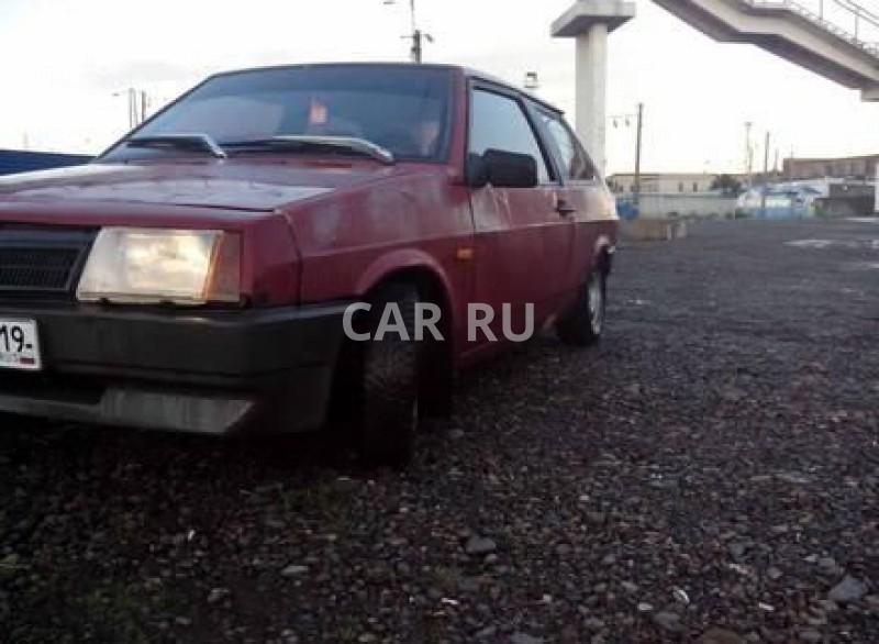 Lada 2108, Абакан
