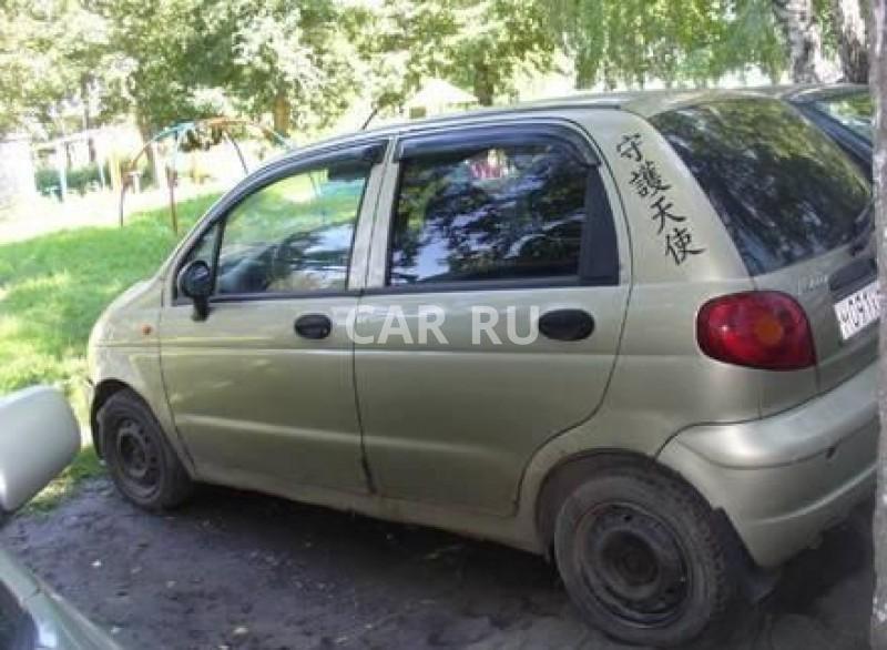 Daewoo Matiz, Барнаул