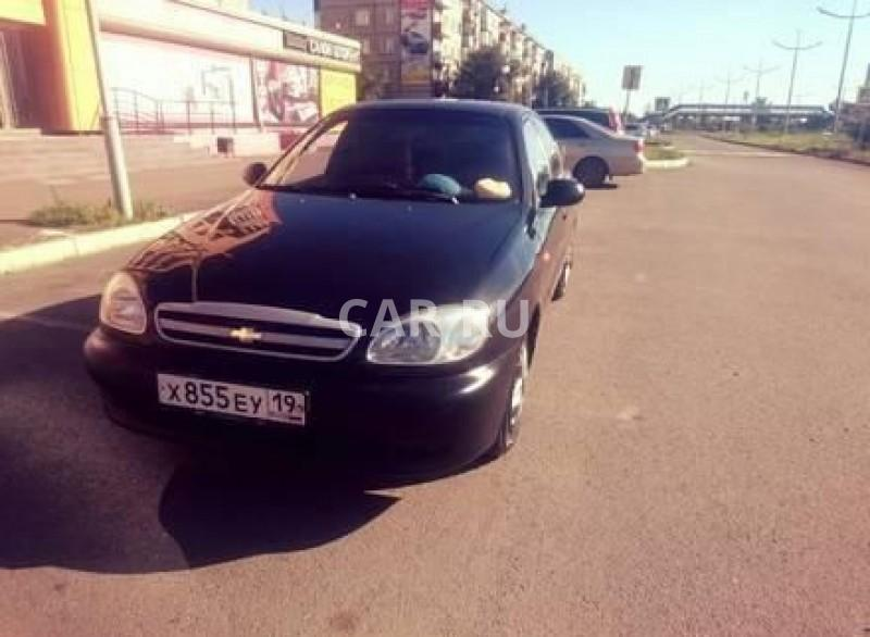 Chevrolet Lanos, Абакан