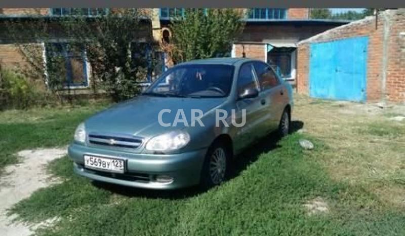 Chevrolet Lanos, Анастасиевская