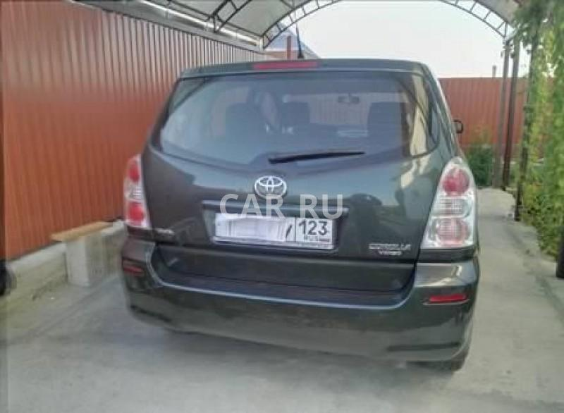 Toyota Corolla Verso, Анапа