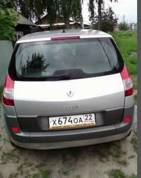 Renault Scenic, Барнаул