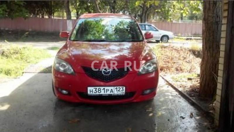 Mazda Axela, Анапа