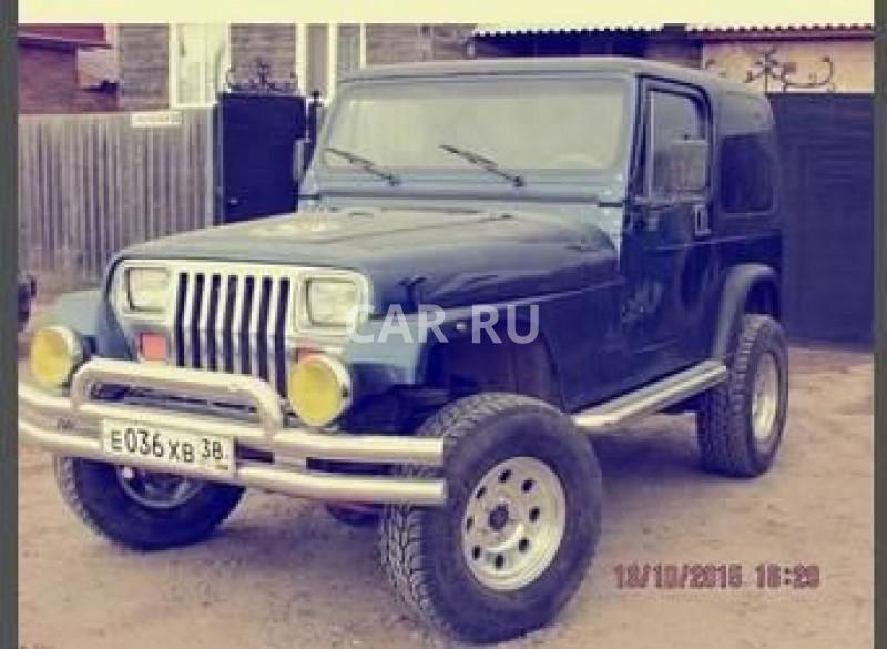 Jeep Wrangler, Абакан