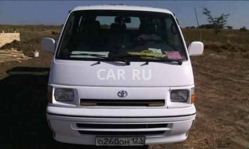 Toyota Hiace, Анапа