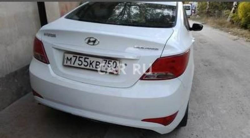 Hyundai Solaris, Бахчисарай