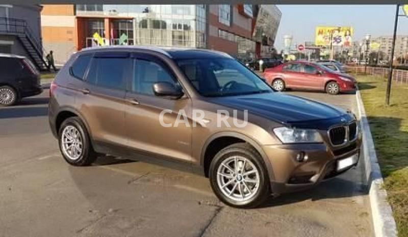 BMW X3, Ангарск
