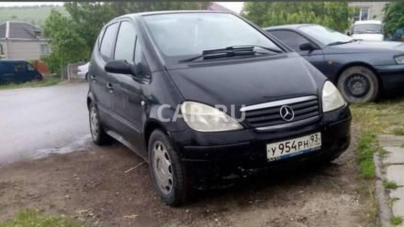 Mercedes A-Class, Анапа