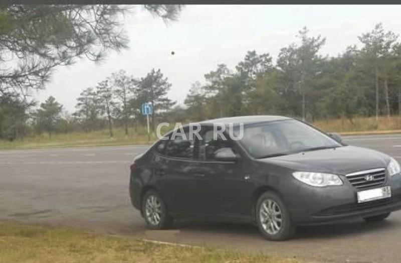 Hyundai Elantra, Афипский