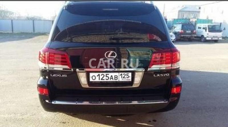 Lexus LX, Арсеньев