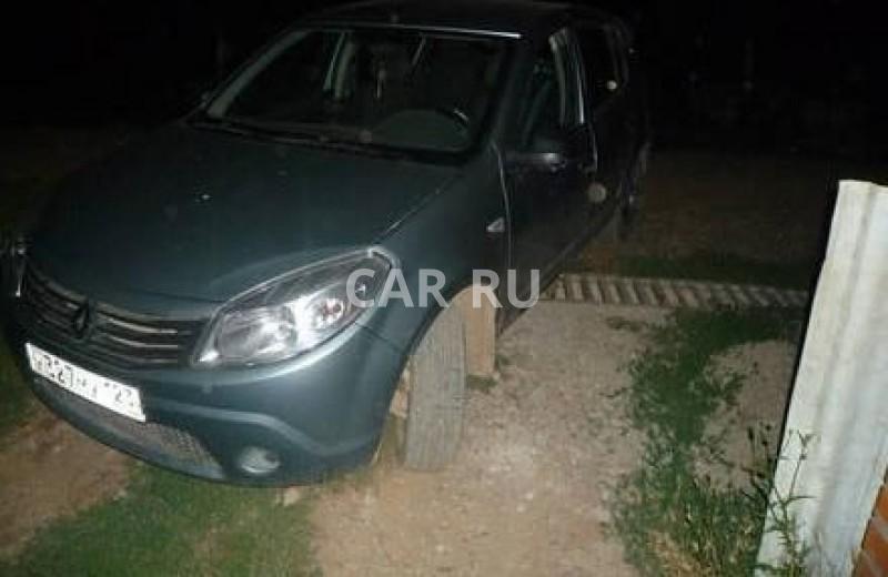 Renault Sandero, Абинск