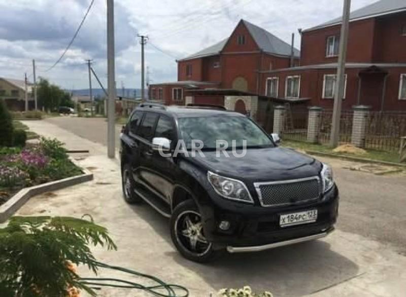 Toyota Land Cruiser Prado, Анапа
