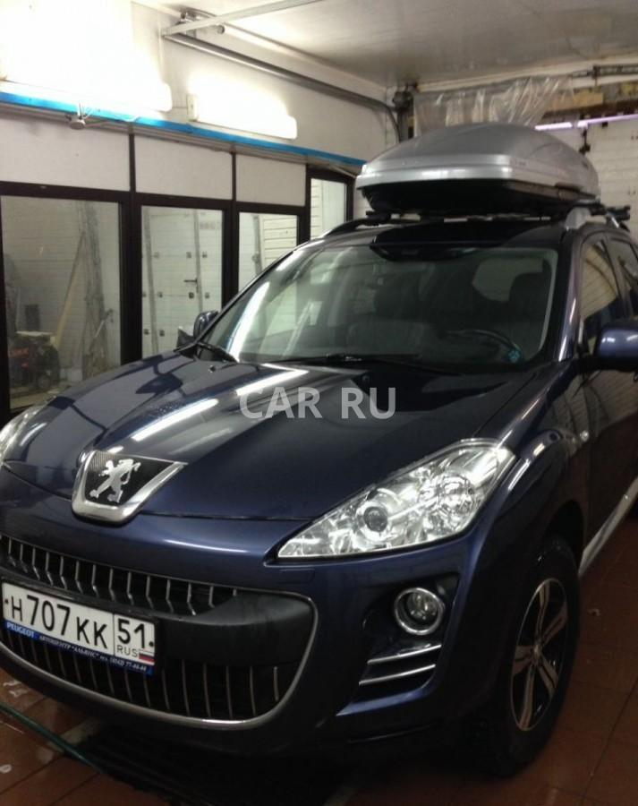 Peugeot 4007, Апатиты