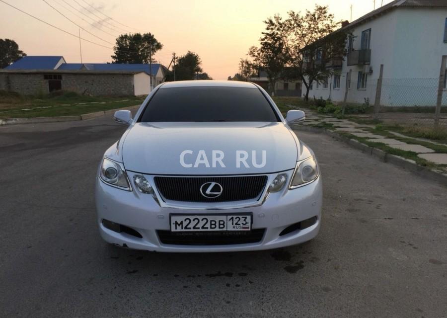 Lexus GS, Анапа