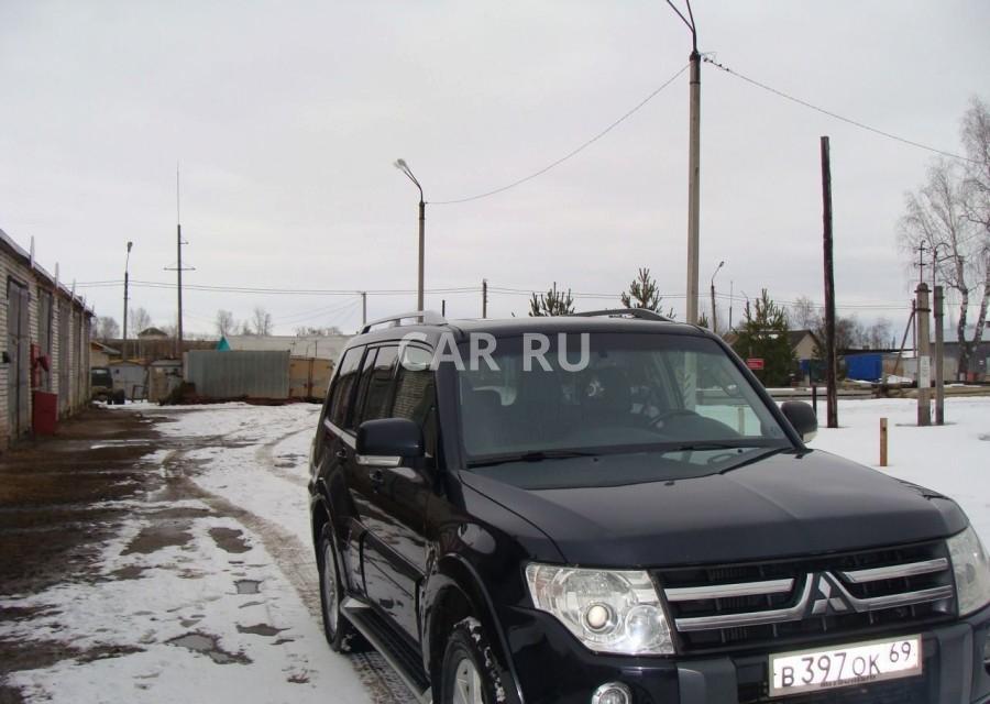 Mitsubishi Pajero, Бежецк