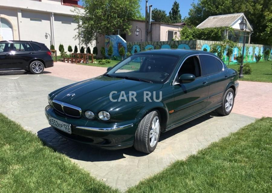 Jaguar X-Type, Анапа