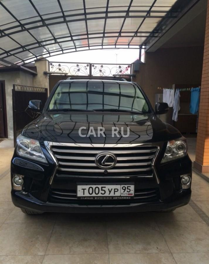 Lexus LX, Аргун