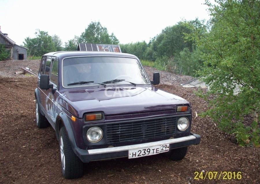 Lada 4x4, Архангельск