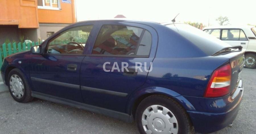 Opel Astra, Барыш