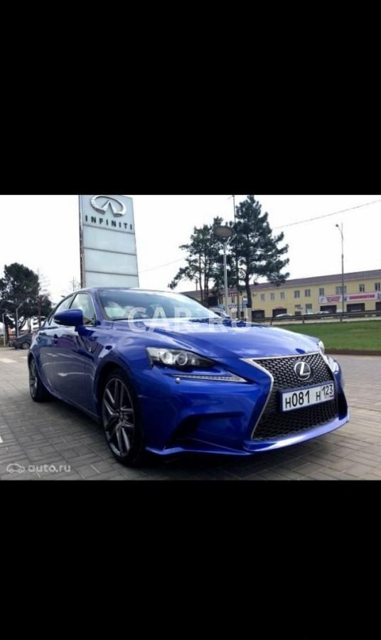 Lexus IS, Анапа