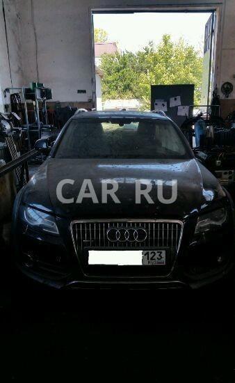 Audi Allroad, Анапа