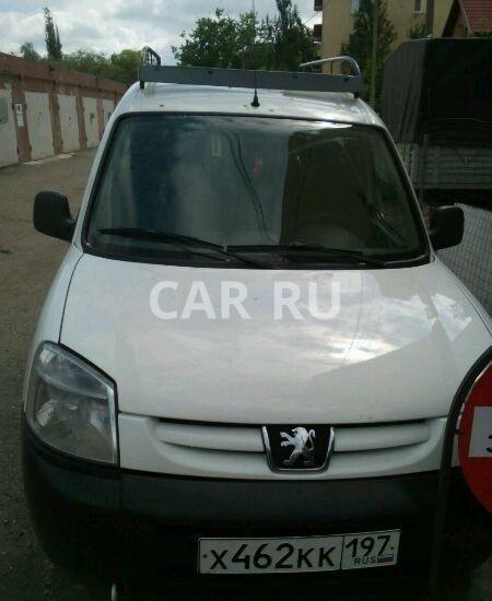 Peugeot Partner, Астрахань